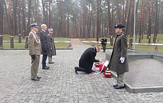 Representatives of the Embassies of France and Poland honored the memory of those buried in Bykivnya
