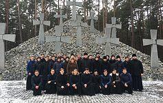 Візит до Заповідника вихованців Київської духовної академії і семінарії