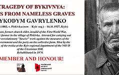 Bykivnia Tragedy: Names from Nameless Graves (Part 1)