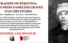Bykivnia Tragedy: Names from Nameless Graves (Part 4)
