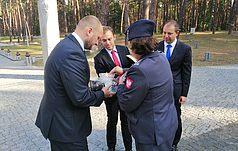 В Быковне отметили годовщину вторжения Красной Армии в Польшу