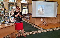 Лекция в Национальной библиотеке имени Ярослава Мудрого
