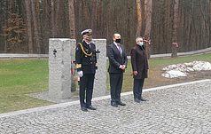 У 81-у річницю Катиньського злочину в Биківні вшанували пам'ять загиблих